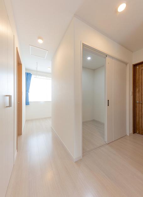 ☆効率良く収納スペースが確保された、子育て世帯の家